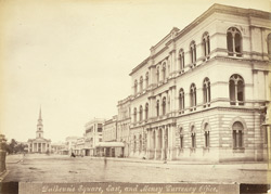 Dalhousie Square, East, and Money Currency Office, [Calcutta]